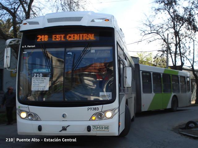 210| Puente Alto - Estación Central