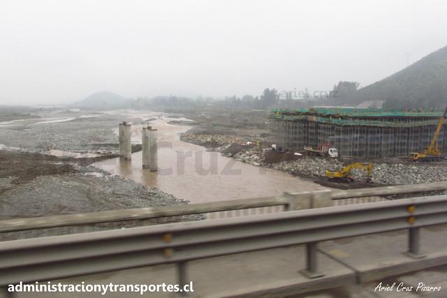 Construcción nuevo Puente Maipo
