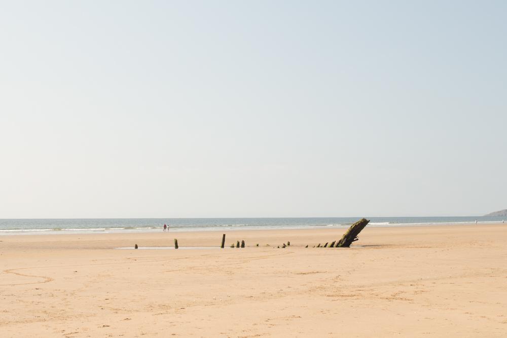Rhossili Bay beach 9
