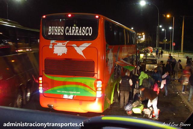 Buses Carrasco (Alberbus) | San Bernardo - Cruce Colón | Marcopolo Paradiso 1800 DD - Mercedes Benz / BBSV36