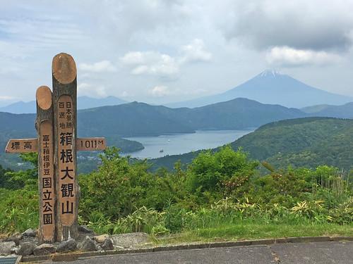 Mt. Fiji, Lake Ashinoko, Hakone, Japan