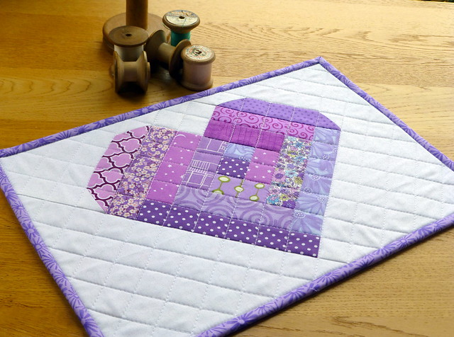 Log Cabin Love (Popular Patchwork June16)