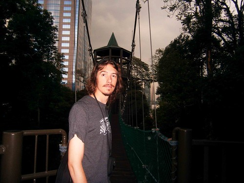 Kyle on the Canopy Walk