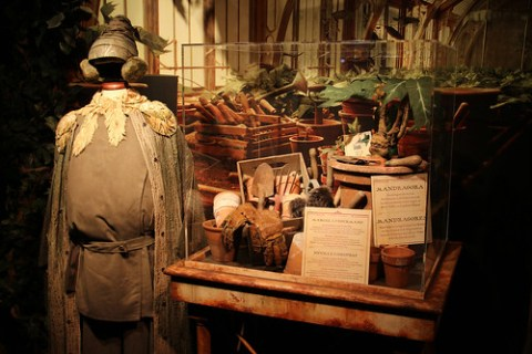 Display at Harry Potter: The Exhibition