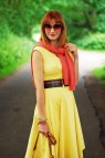 Favourite Yellow Sun Dress With Heaps Of Orange #