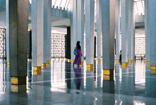 In the National Mosque