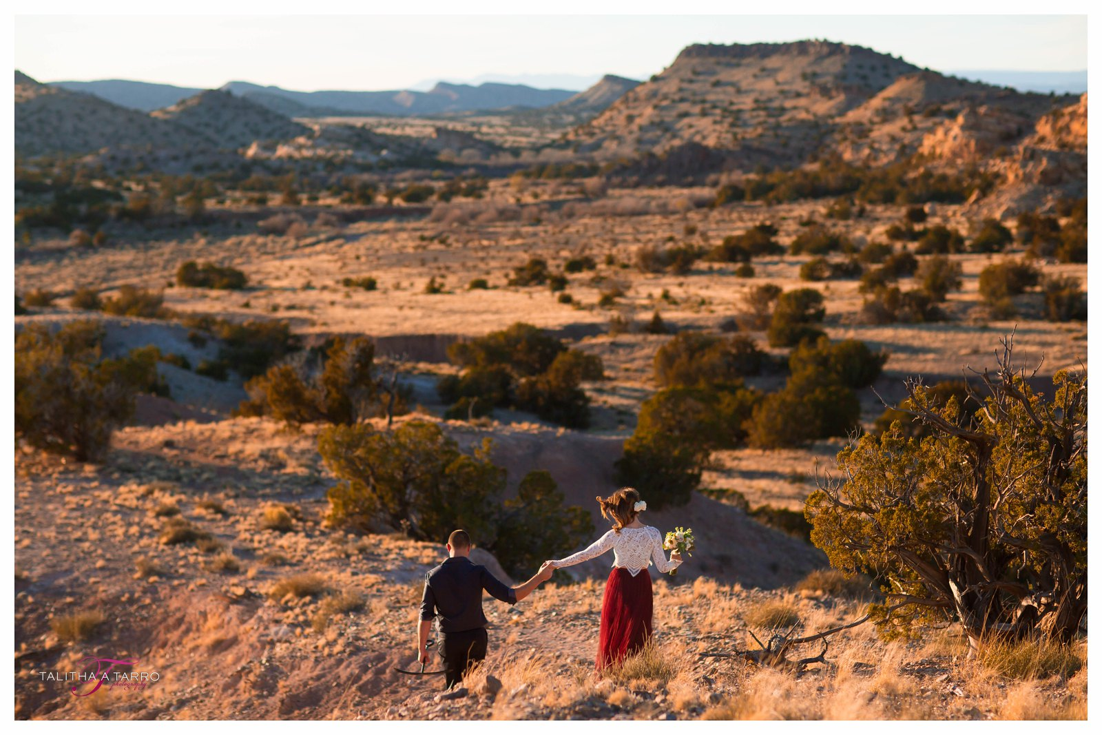 Shonna  Codys Elopement in the high desert of New Mexico