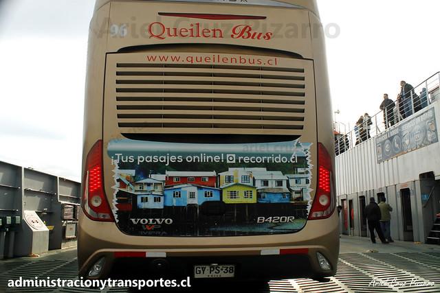 Queilen Bus   Canal de Chacao   Modasa Zeus 3 - Volvo / GYPS38 - 96