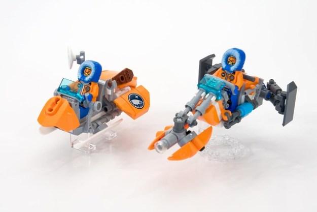 Snow-Fox & Caribou - Arctic Speederbikes