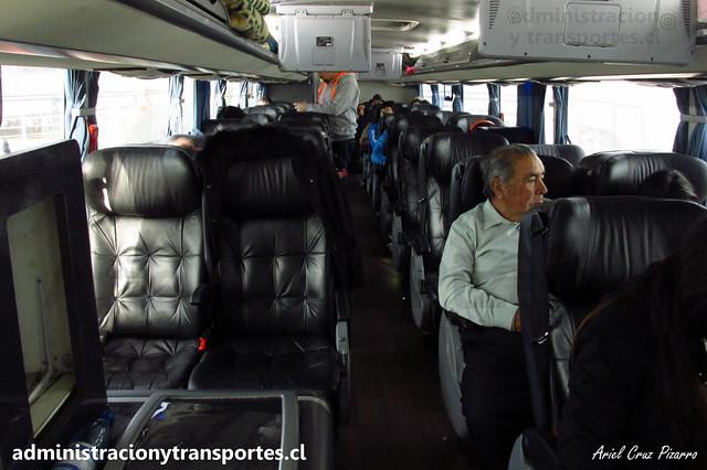 Queilen Bus   2° Piso Semi Cama   Modasa Zeus 3 - Volvo / GYPS38 - 96