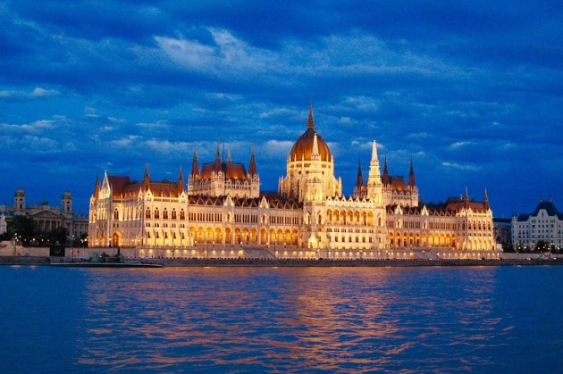 Parliament from the Danube