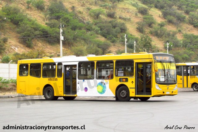 Transantiago F09 | STP Santiago | Caio Mondego H 13.2 - Mercedes Benz / HRKS55