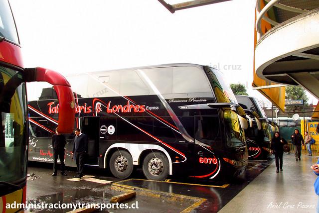Talca París & Londres N° 6070 | Santiago | Modasa Zeus 3 - Volvo B420R 8x2 / HLBW86