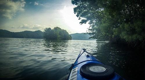 Lake Jocassee Kayaking-57