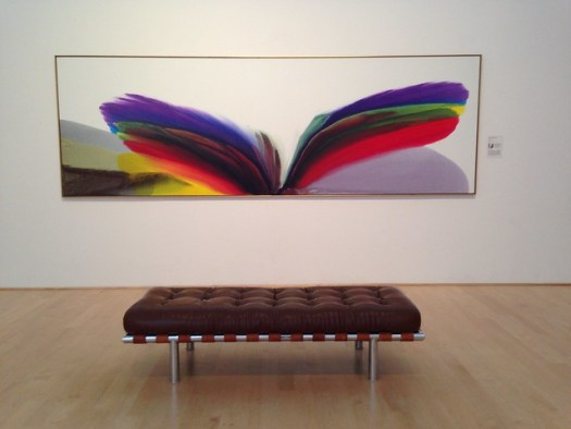 Paul Jenkins, Phenomena Royal Violet Visitation, Hunter Museum of Art, Chattanooga TN