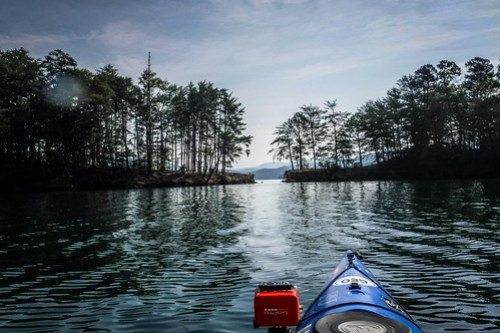 Lake Jocassee Kayaking-7