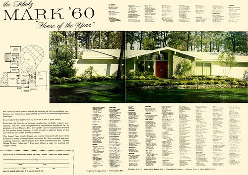 Scholz Mark 60 House Of The Year House Amp Garden 1960 1