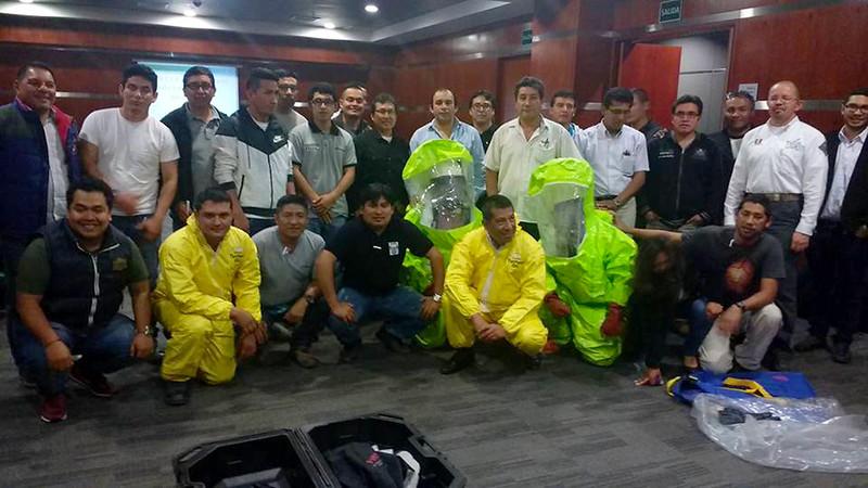 Firemed capacita en respuesta a emergencias