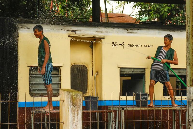 Lokalt liv i Yangon