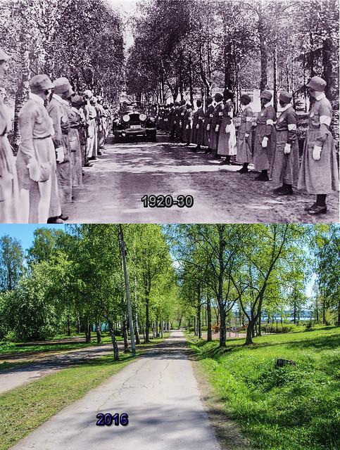 1920-30 Почётная аллея женщин-добровольцев из орг. Лотта Свярд - 22 мая 2016