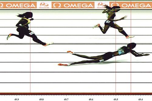 Miller y Felix final 400m Rio 2016