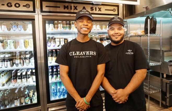Service with a Smile at Cleavers, Philadelphia, June 2016