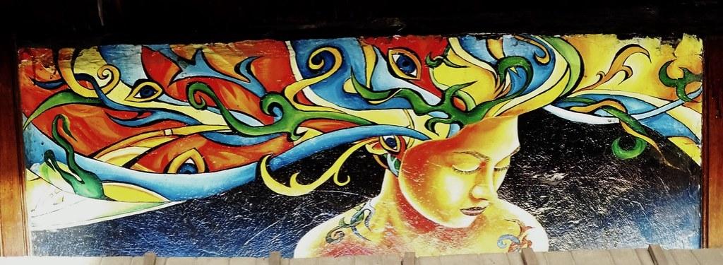 Graffitis en la calle  Baños de Agua Santa Ecuador 06