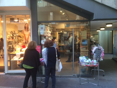 Find Stuttgart related gifts and souvenirs at Korbmayer in the Schulstraße.