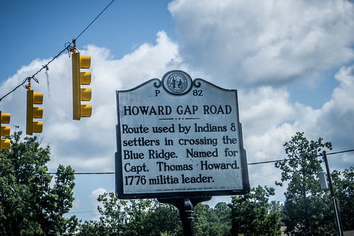 Howard Gap Historical Marker