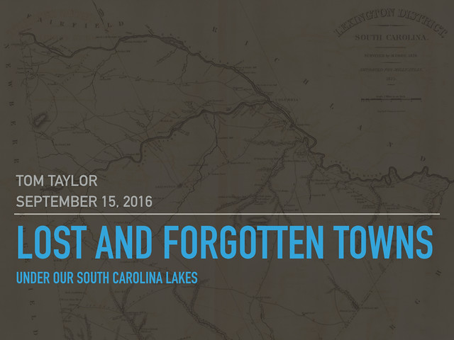 Lost And Forgotten Towns Under South Carolinas Lakes Random