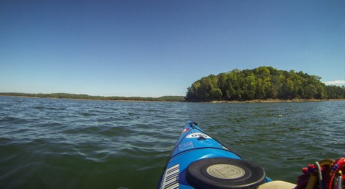 Paddling to Ghost Island in Lake Hartwell-106