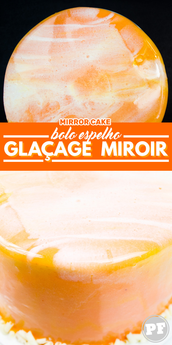 Glaçage Miroir: Mirror Cake by PratoFundo.com