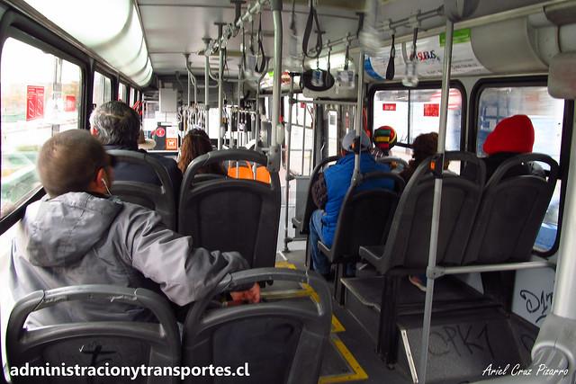 Transantiago 222e | Subus | Marcopolo Gran Viale - Volvo / BJFD95 - 7139