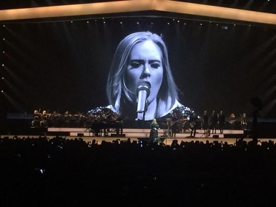 sing it, Mama Adele