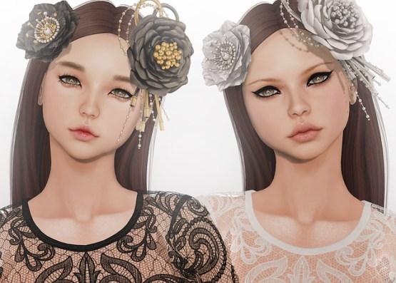 Akeruka Kioko & Aurora Female Mesh Heads