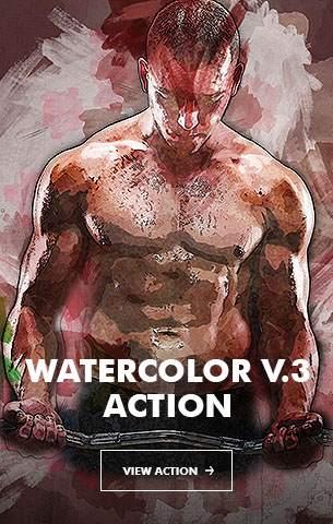 Ink Spray Photoshop Action V.1 - 86