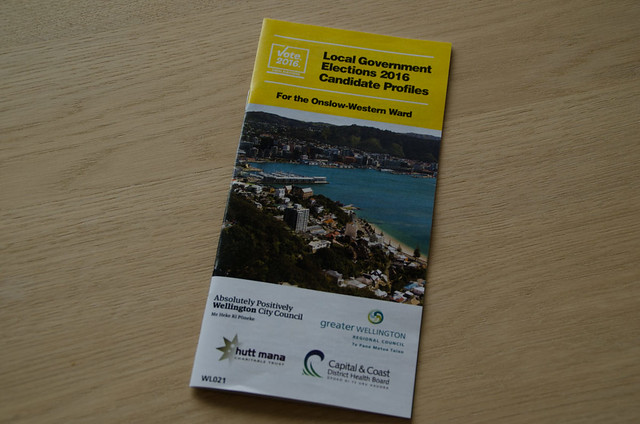 Wellington Local Government Elections 2016