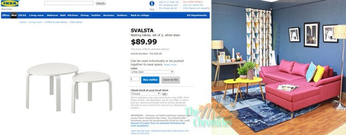 nesting tables ikea