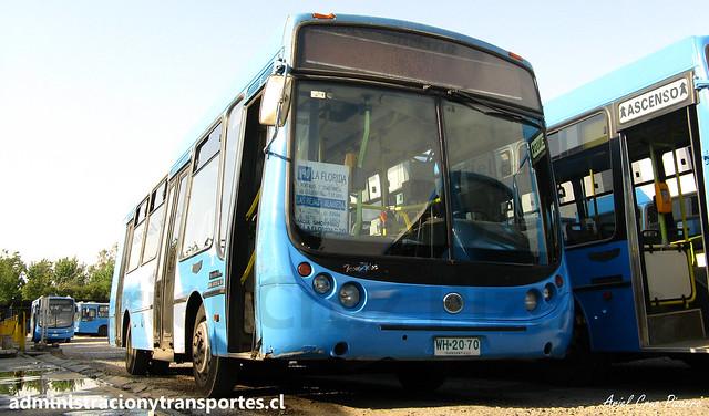 190 Transantiago | Unitran | Metalpar Tronador - Mercedes Benz / WH2070