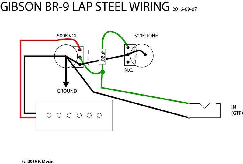 BR-9 lap steel tone not working : The Steel Guitar Forum
