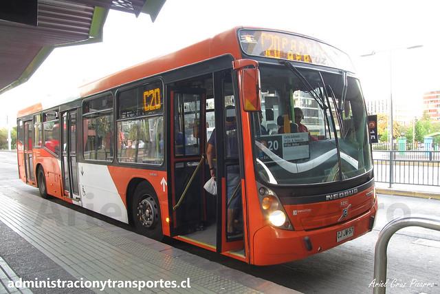 Transantiago C20   Redbus   Neobus Mega - Volvo B7R LE / CJJW57 - 291