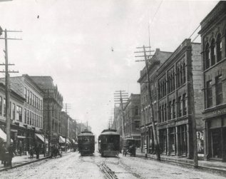 King Street, Berlin, Ontario 1907