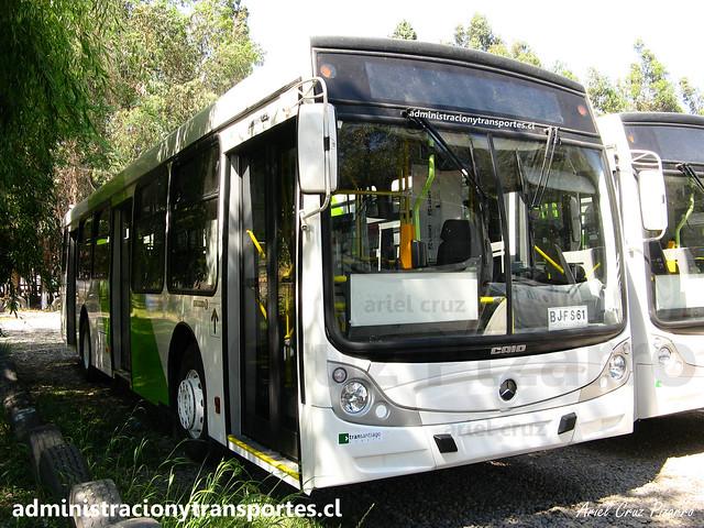 Transantiago | Buses Vule | Caio Mondego H - Mercedes Benz O500U / BJFS61