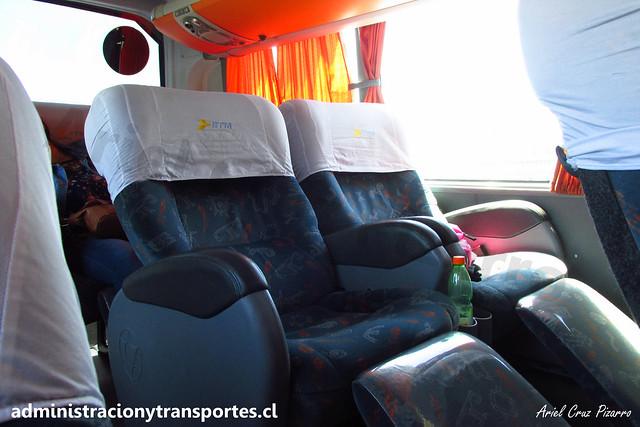 Buses ETM | Salón Cama | Marcopolo Paradiso 1800 DD - Scania / FHGS98
