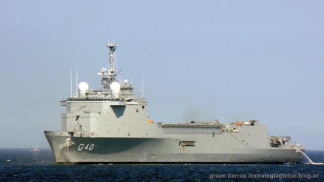 Navio Doca Multipropósito G-40 Bahia (Ex-TCD (Transport de chalands de débarquement) L9012 Siroco landing platform dock (LPD)