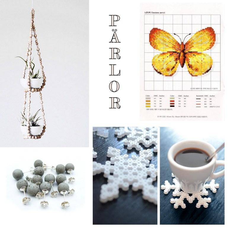 DIY inspiration pärlor