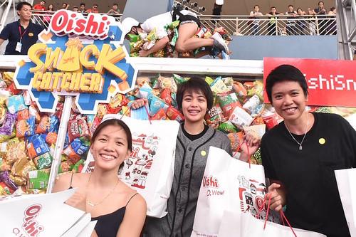 Kim Dy, Ara Galang and Kim Fajardo, DLSU Lady Spikers