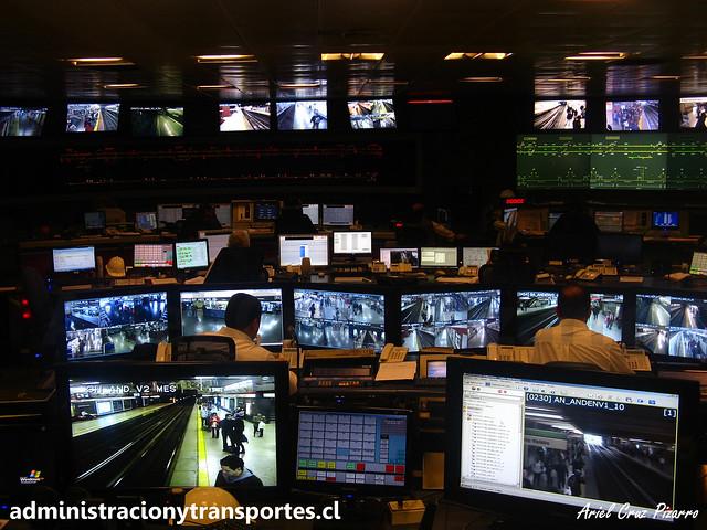 CIC (Centro Integrado de Control) / Metro de Santiago