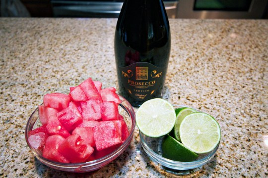 how to make a watermelon cooler drink