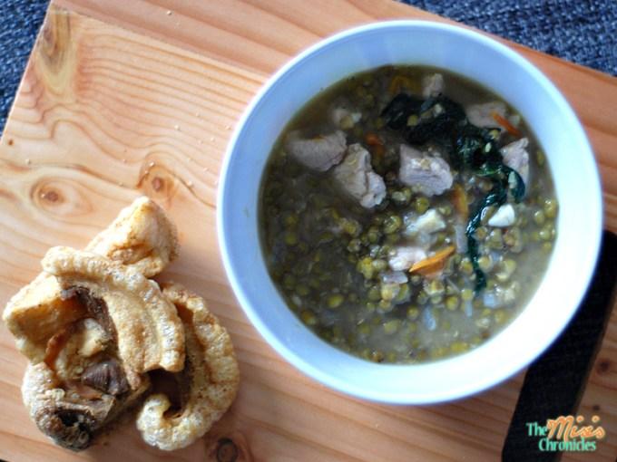 ginisang monggo with chicharon recipe